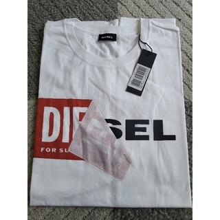 DIESEL - 新品未使用品 ホワイト DIESEL ディーゼル Tシャツ XXLサイズ タグ付