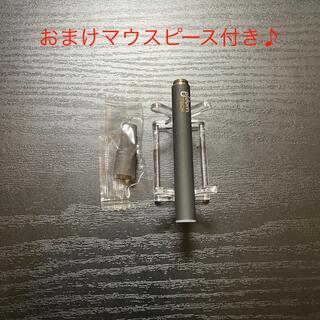 プルームテック(PloomTECH)のP1671番プルームテック 純正 バッテリー1本おまけマウスピース付きブラック(タバコグッズ)