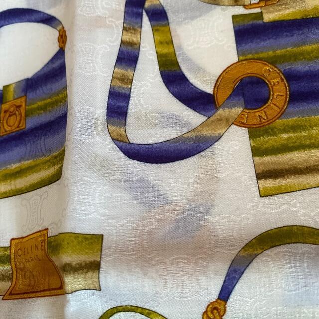 celine(セリーヌ)のセリーヌ 大判ハンカチ レディースのファッション小物(ハンカチ)の商品写真