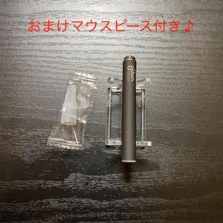 プルームテック(PloomTECH)のP1672プルームテック 純正 バッテリー1本おまけマウスピース付きブラック(タバコグッズ)