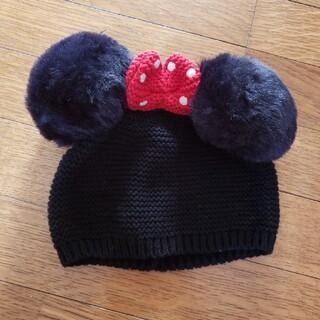 ベビーギャップ(babyGAP)のbabyGAP ミニーちゃん ニット帽(帽子)