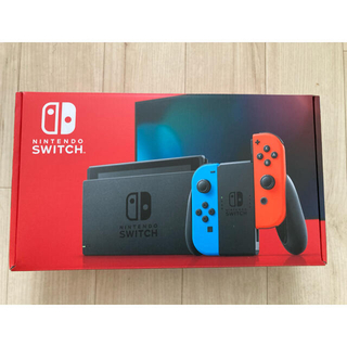 Nintendo Switch - 【ほぼ新品】Nintendo Switch ネオンブルー