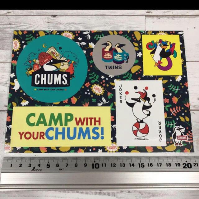CHUMS(チャムス)のチャムス マジックキャッチとステッカー スポーツ/アウトドアのスポーツ/アウトドア その他(その他)の商品写真