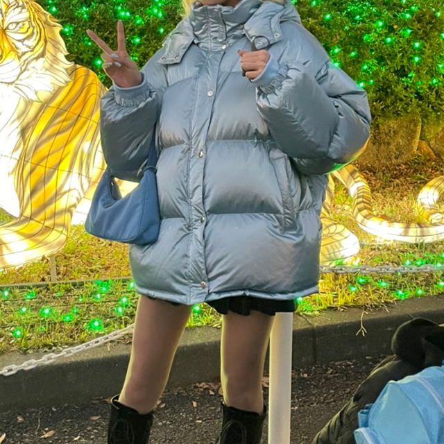 jouetie(ジュエティ)のjouetie オーバールーズダウン レディースのジャケット/アウター(ダウンジャケット)の商品写真