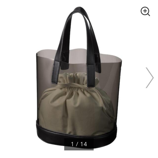 GU(ジーユー)のGU クリアトートバッグ レディースのバッグ(トートバッグ)の商品写真