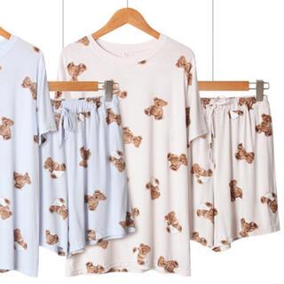 たっぷりクマさん ジェラートピケ ジェラピケ GU 量産型 パジャマ 部屋着 春