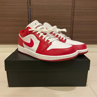 NIKE - NIKE AIR JORDAN1 low gym red