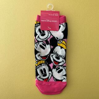Disney - 【匿名配送】タグ付・未使用品 ディズニー ミニー 靴下 ソックス 22-25cm