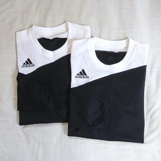 adidas - adidas  CLIMALITE ꕤ 長袖 スポーツシャツ メンズ Lサイズ