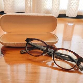 ジンズ(JINS)のJINS ウェリントン型メガネ ブルーライト25%カット(サングラス/メガネ)