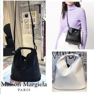 Maison Martin Margiela - MM6 マルジェラ 新品未使用新作 ホワイト ショルダーバッグ ポシェット