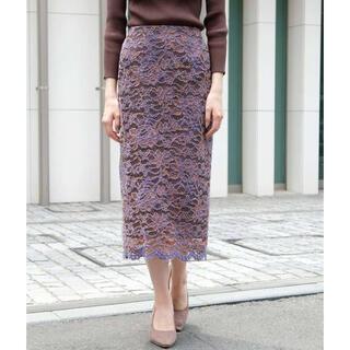 STRAWBERRY-FIELDS - ブラッシュレースタイトスカート