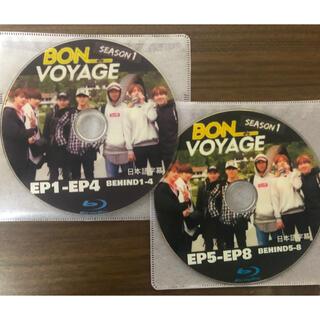 防弾少年団(BTS) - BTS ボンボヤージュ シーズン1 全話+behind 収録 Blu-ray2枚