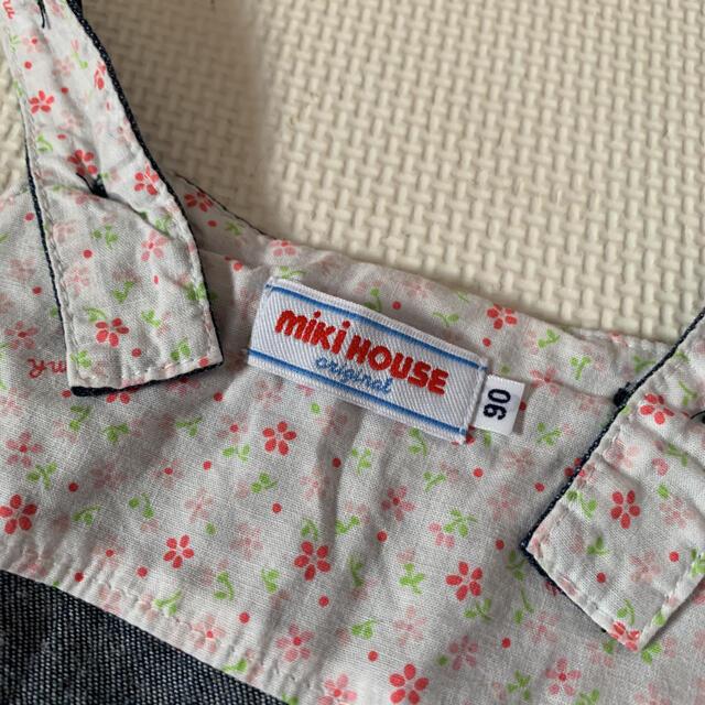 mikihouse(ミキハウス)のミキハウス ジャンスカ&インナーセット キッズ/ベビー/マタニティのキッズ服女の子用(90cm~)(ワンピース)の商品写真