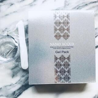 フェヴリナ ナノアクア 炭酸ジェルパック 5回分 新品(パック/フェイスマスク)
