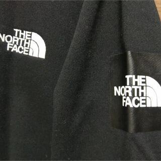 THE NORTH FACE - ノースフェイス スウェット トレーナー ロゴ ブラック Lサイズ メンズ