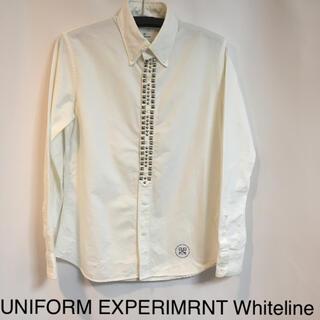 ユニフォームエクスペリメント(uniform experiment)の★美品★ UNIFORM EXPERIMRNT Whiteline 白シャツM(シャツ)
