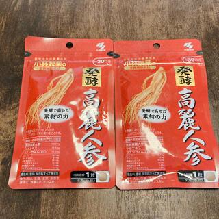 コバヤシセイヤク(小林製薬)の新品未開封  小林製薬   発酵 高麗人参  30日分 2袋セット(その他)