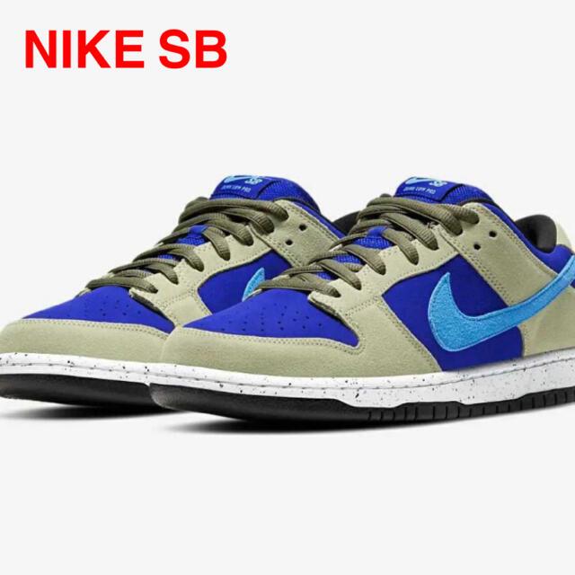 "NIKE(ナイキ)のNIKE SB DUNK LOW PRO ""CELADON"" スケート セラドン メンズの靴/シューズ(スニーカー)の商品写真"