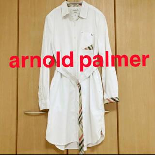 Arnold Palmer - アーノルドパーマー オークスフォード シャツワンピ