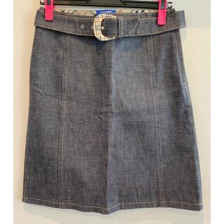 BURBERRY BLUE LABEL - 送料込み Burberry Blue Labelスカート