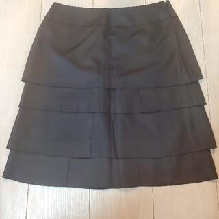 プロポーション(PROPORTION)のプロポーション 黒 タイトスカート(ひざ丈スカート)