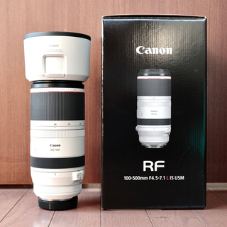 Canon - RF100-500mm F4.5-7.1 L IS USM  キヤノン