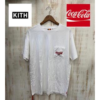 キース(KEITH)のkith キース Tシャツ 半袖 tee CocaCola コカコーラ(Tシャツ/カットソー(半袖/袖なし))