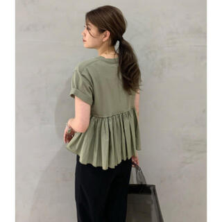 TOMORROWLAND - CLANE クラネ バックフリルTシャツ