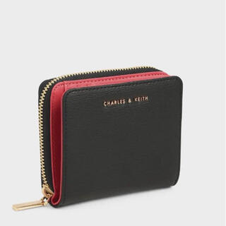 Charles and Keith - クラシックジップウォレット/Classic Zip Wallet