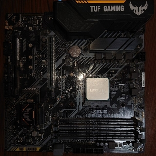 TUF B450-PLUS GAMING+Ryzen 5 3600X