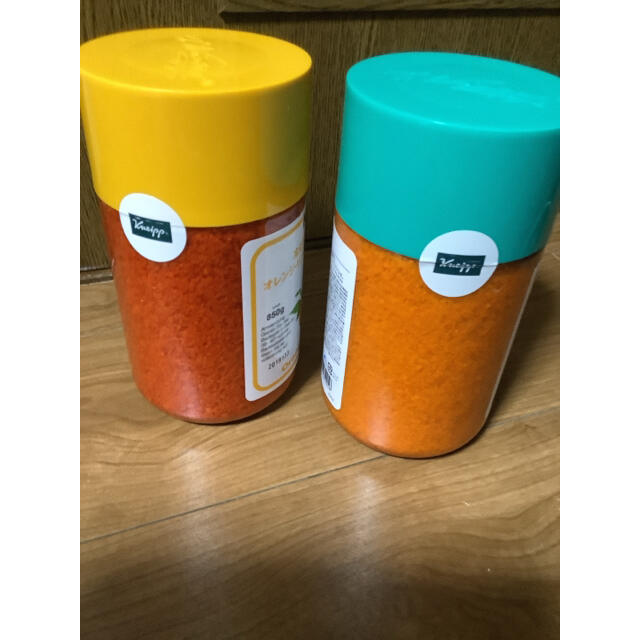 Kneipp(クナイプ)のクナイプ バスソルト ラベンダー & オレンジ・リンデンバウム コスメ/美容のボディケア(入浴剤/バスソルト)の商品写真