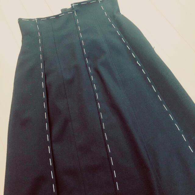 Ameri VINTAGE(アメリヴィンテージ)のAmeri ステッチスカート アメリ レディースのスカート(ロングスカート)の商品写真
