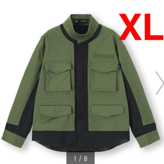 UNDERCOVER - GU UNDERCOVER コラボ ミリタリージャケット  XLサイズ 新品