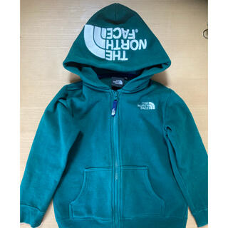 THE NORTH FACE - ノースフェイス キッズ パーカー 120  緑