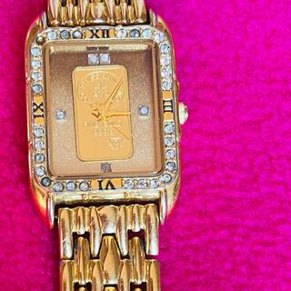 エルジン 腕時計 ゴールド