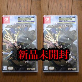 Nintendo Switch - 新品未開封 モンスターハンター ライズ Switch ソフト