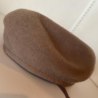 ビューティアンドユースユナイテッドアローズ(BEAUTY&YOUTH UNITED ARROWS)のbeauty&youth ベレー帽 キャメル(ハンチング/ベレー帽)