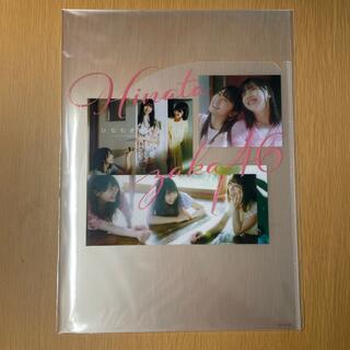 ノギザカフォーティーシックス(乃木坂46)の日向坂46 A4クリアファイル ひなたざかLoppi・HMV購入特典(アイドルグッズ)