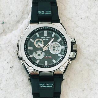 BISTEC クロノグラフ 腕時計