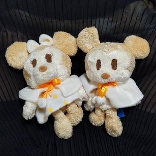 ミッキーマウス ミニーマウス ぬいぐるみ セット