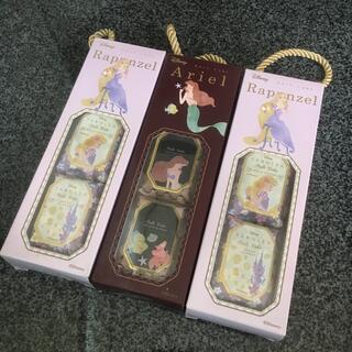 ディズニー(Disney)の【新品】ディズニープリンセス バスキューブセット(入浴剤/バスソルト)