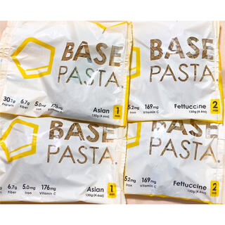 BASE PASTA ベースパスタ 4食 完全栄養食 ベースフード