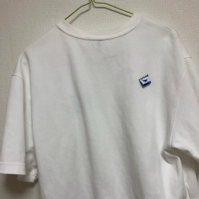 MAISON KITSUNE'(メゾンキツネ)のadererror × メゾンキツネ   メンズのトップス(Tシャツ/カットソー(半袖/袖なし))の商品写真