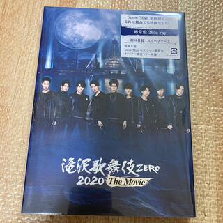 Johnny's - 滝沢歌舞伎 ZERO 2020 The Movie 通常盤 Blu-Ray