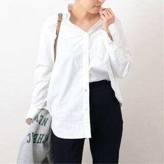 DEUXIEME CLASSE - 新品■OXFORD BDシャツ■ホワイト■ミューズ ドゥーズィエムクラス
