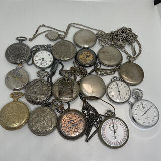 SEIKO - 懐中時計 ストップウォッチ ジャンク品 まとめ売り ウォッチ 時計 不動品