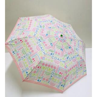COACH - コーチ 折りたたみ傘 傘 晴雨兼用 1