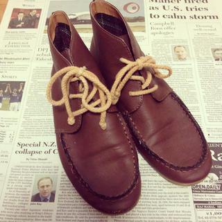 ショートブーツ ブラウン(ブーツ)