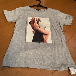 ジルスチュアート(JILLSTUART)のJILLSTUART グレー Johanna Bear Tシャツ(Tシャツ(半袖/袖なし))